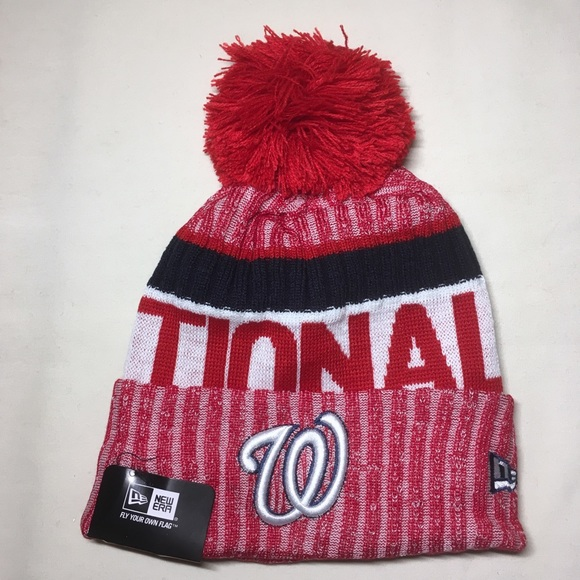 9d2155fcd6a80 Washington Nationals beanie hat. NWT. New Era